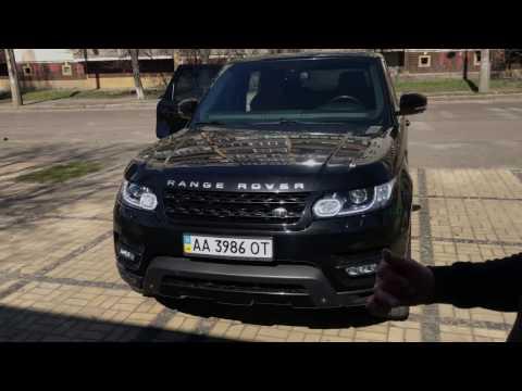 Тест драйв Land Rover Range Rover Sport