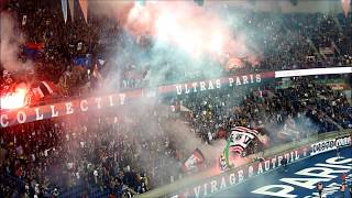 PSG vs Saint-Etienne : ambiance et premiers fumigènes de la saison [14/09/18]