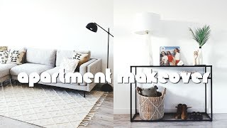 APARTMENT MAKEOVER! DIY HOME DECOR + INTERIOR DESIGN TIPS | Nastazsa