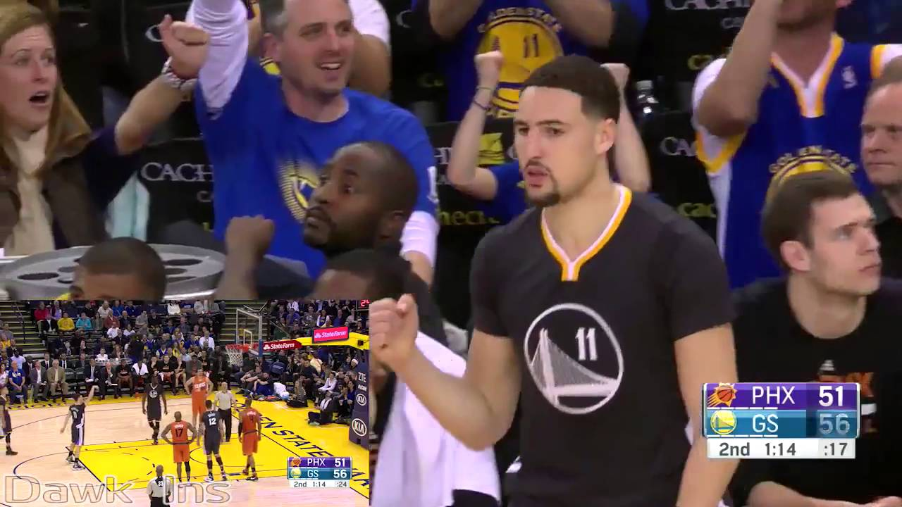 Why Andre Iguodala would pick Klay Thompson first for his dodgeball team