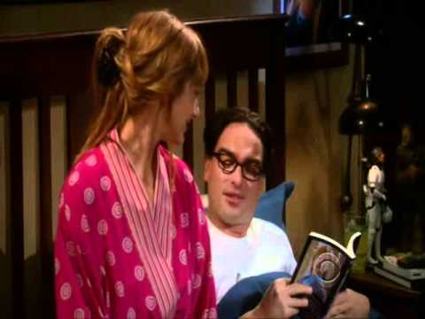 The big bang theoryDr.Elizabeth Plimpton seducing Leonard