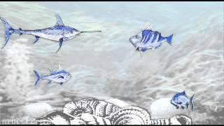 swimming around ... music: robert wyatt - the whole point of no return (1997) [HD]