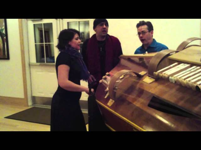 Tim Eriksen, Trio de Pumpkintown and the Worlds Largest Hurdy Gurdy