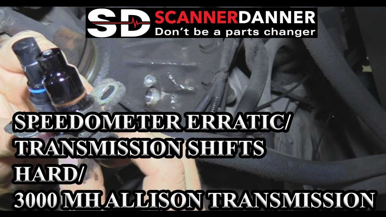 maxresdefault speedometer erratic transmission shifts hard 3000 mh allison Allison 3060 Wiring -Diagram at mifinder.co