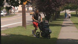 Long Island man running 600 miles for Scranton animal rescue