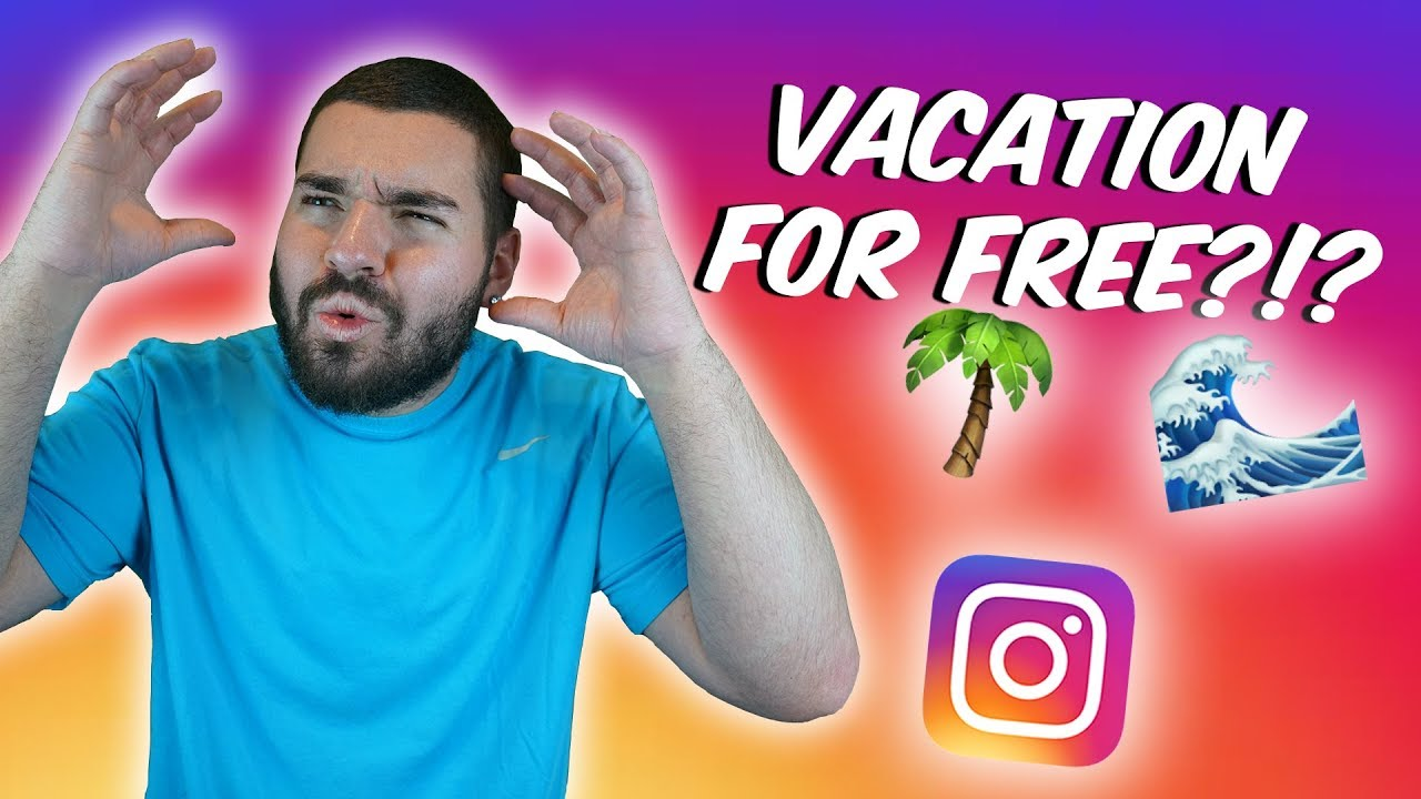 How Influencers get FREE Travel and Hotels With Instagram  (Hotels,  Flights, Products)