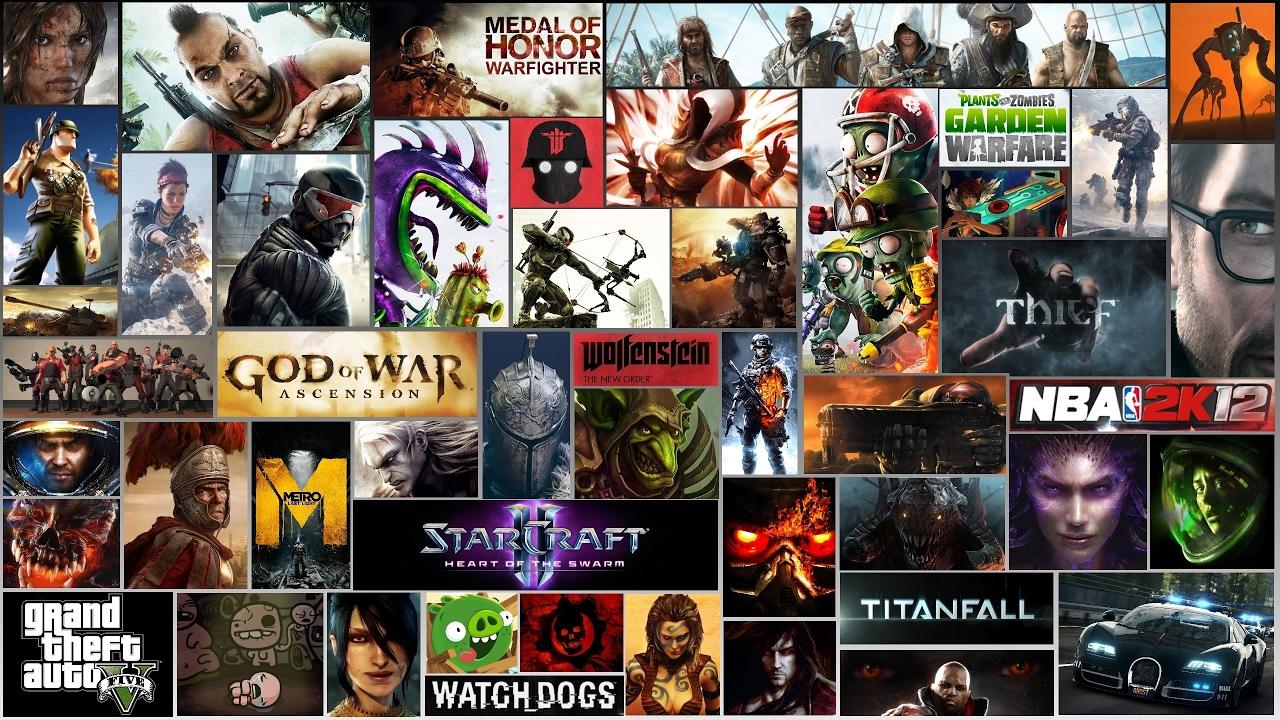 Название компьютерных игр в картинках