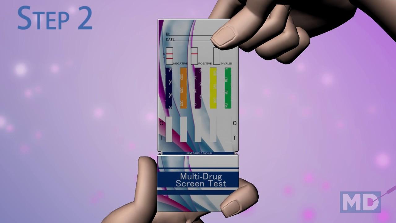 10 Panel Drug Test Card