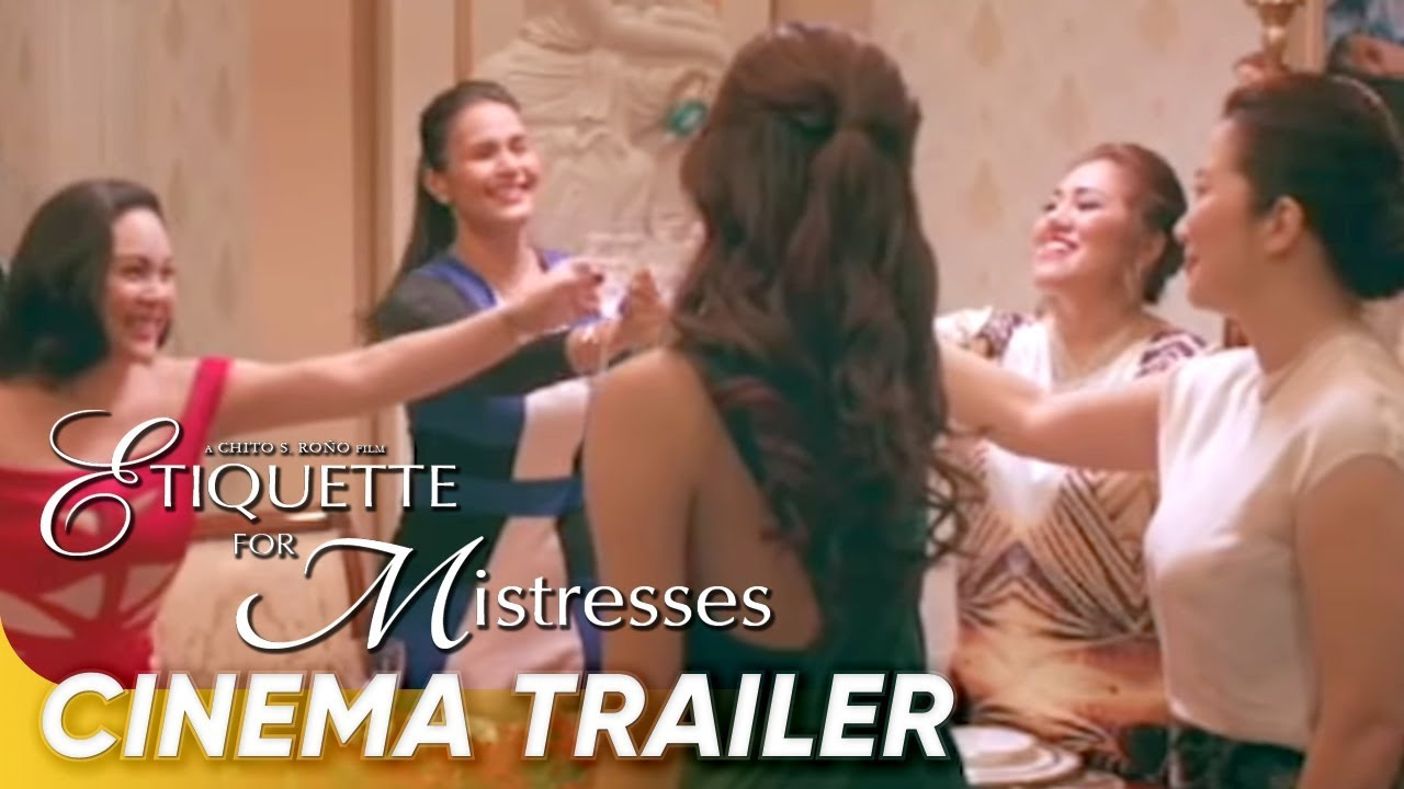 Etiquette For Mistresses Cinema Trailer | 'Etiquette For Mistresses'
