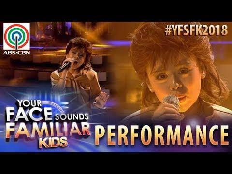 Your Face Sounds Familiar Kids 2018: Esang De Torres as Joey Albert | Tell Me
