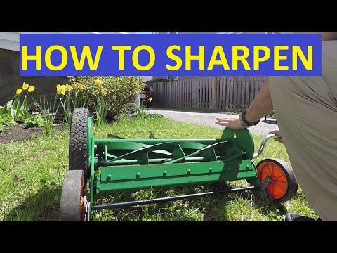 🥇How to Sharpen Reel Mower Blades in (September 2019) - Guide