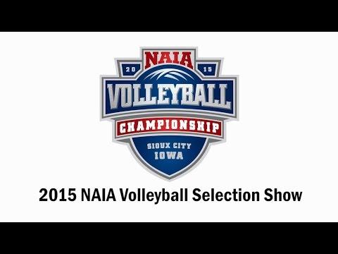 2015 NAIA Volleyball National Championship Selection Show