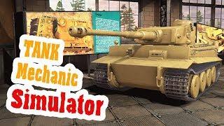 Все танки Открываем музей для посетителей - Tank Mechanic Simulator