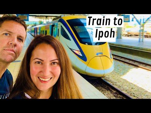 Kuala Lumpur to Ipoh by train.