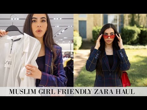 New In ZARA Halal Fall/Autumn Pieces | Come Shopping With Me