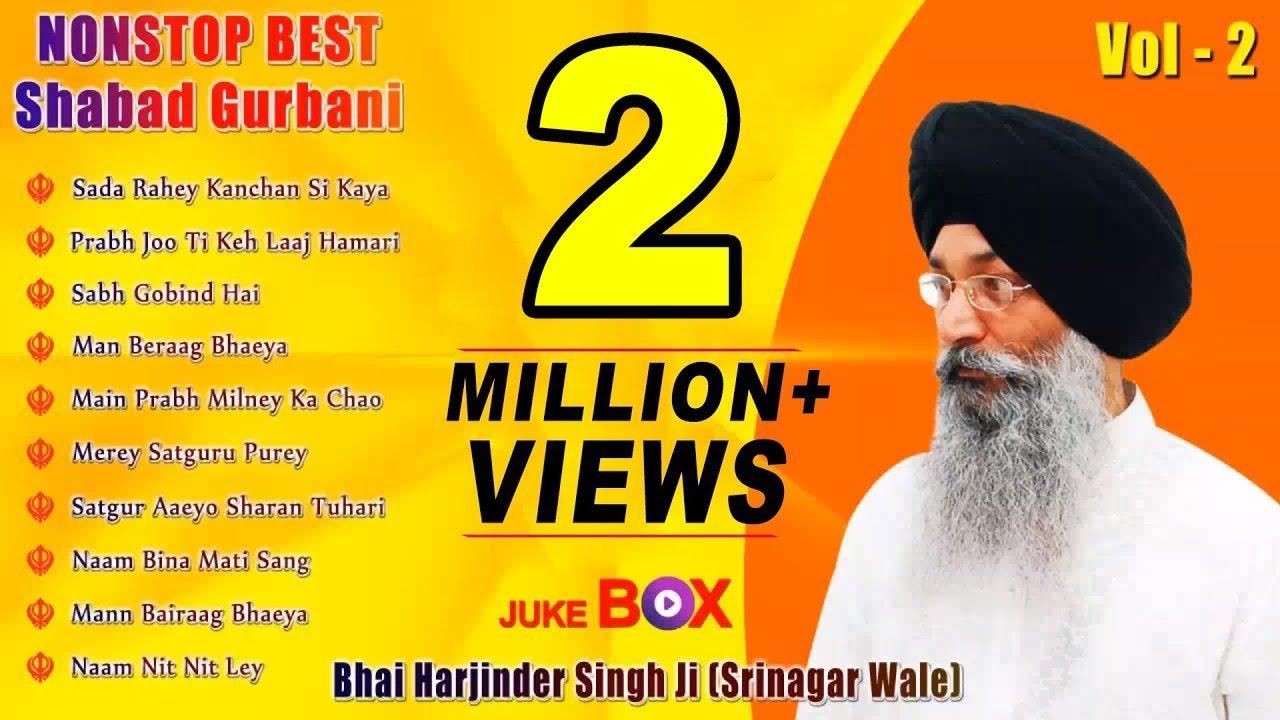 Download Non Stop Best Shabad Gurbani by Bhai Harjinder Singh Ji (Sri Nagar Wale) | Vol. 2 | Jukebox