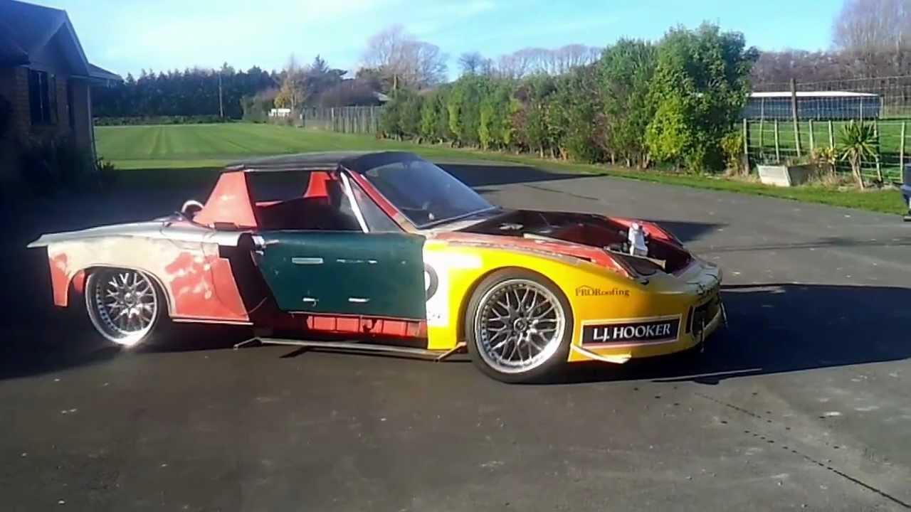 Ls1 Porsche 914 First Drive Youtube