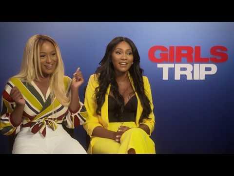 "Cuppy & Charlie Kamale Interview Jada Pinkett Smith For ""Girls Trip"" Movie!"
