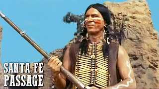 Santa Fe Passage | Cowboy and Indian Movie | ACTION | WESTERN | Classic Feature Film In Full Length