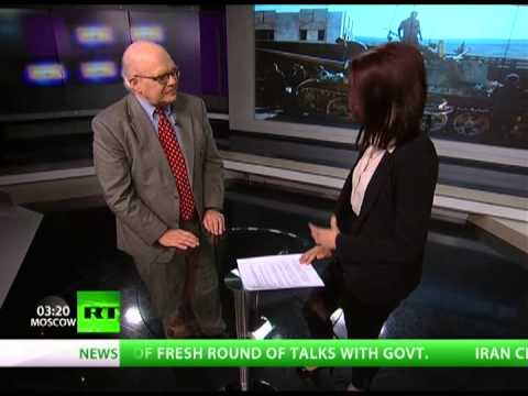 Syrians Used as Political Pawns | Interview with Webster Tarpley