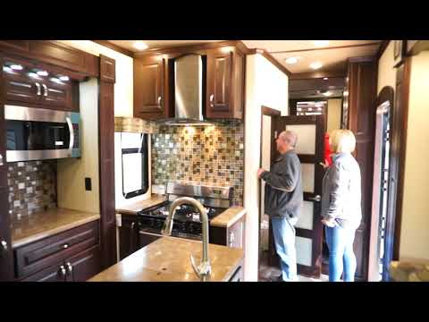 Luxe Luxury Fifth Wheel  Terry & Angela Lewis first look