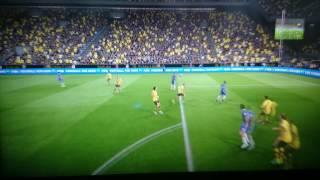 FIFA 17 - Gol com passe estilo Hibra