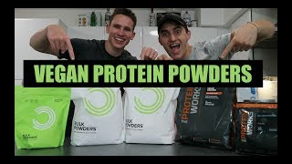 REVIEWING VEGAN PROTEIN POWDERS!
