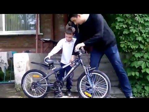 Подарок сыну спортивный велосипед NOVATRACK Extreme 20