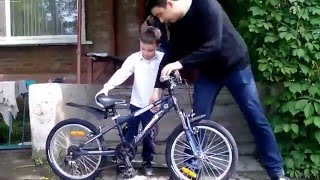 Подарок сыну спортивный велосипед NOVATRACK Extreme 20(возраст мальчика 7 лет ,рост 125см., 2016-05-19T12:46:09.000Z)