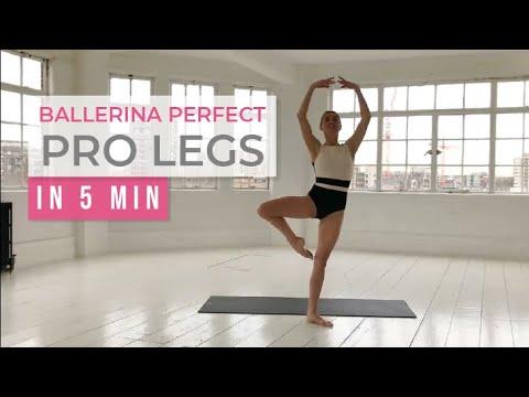 Ballerina Perfect Pro Legs in 5 minutes