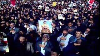 Live: Soleiman funeral - pt. 2伊朗民众为苏莱曼尼将军送葬