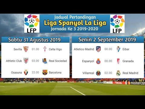 La Liga Jadwal 2019 La Liga Tabel Fixtures