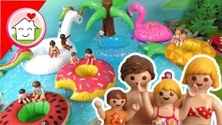 Playmobil Film deutsch - Chaos am Badesee - Geschichte von Familie Hauser für Kinder