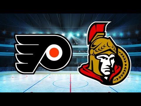 Philadelphia Flyers vs Ottawa Senators (5-3) – Feb. 24, 2018 | Game Highlights | NHL 2018