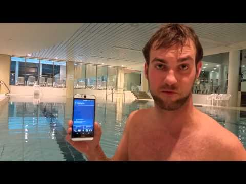 HTC Desire Eye Swimming Pool Test [Full HD]