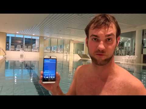 HTC Desire Eye Swimming Pool Test [Full HD]