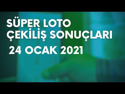 Süper Loto Sonuçları Belli Oldu   24 Ocak 2021