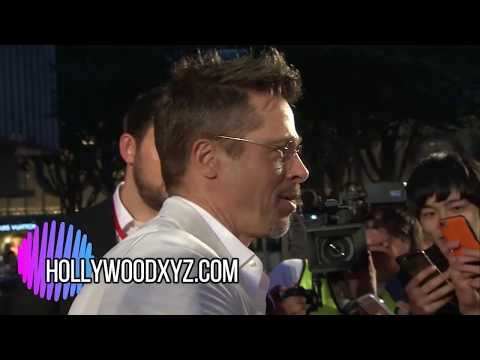 Brad Pitt interview- Netflix War Machine Premiere in Japan