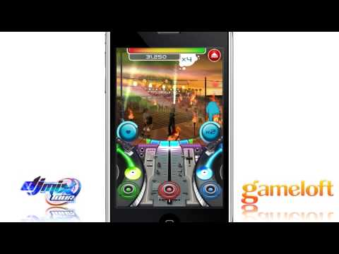 DJ Mix Tour - IPhone/iPod Touch Trailer By Gameloft