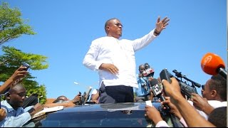 """FULL VIDEO: Nape alivyozuiwa na Polisi """"alietoa Bastola aje hapa"""