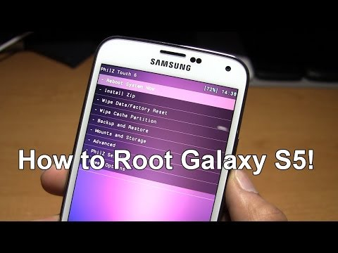 How to Root Galaxy S5! | Recovery + Root