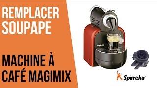 Comment remplacer la soupape de votre cafetière Magimix ?