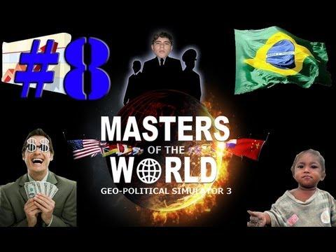 Geopolitical Simulator 3 - Salário de R$2480 e competitividade grande!!!