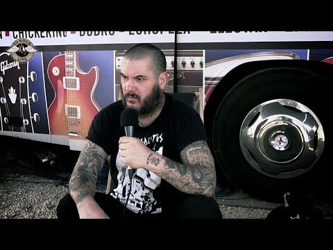 Philip H. Anselmo & the Illegals - Interview - Hellfest 2014 [HD] - TV Rock Live -  VOSTFR