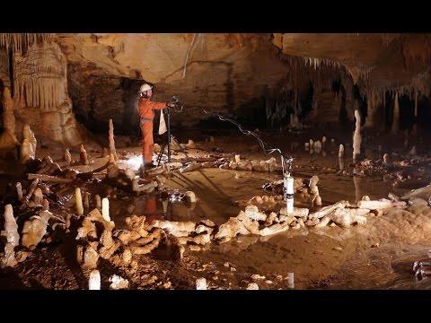 Neanderthals built underground structures