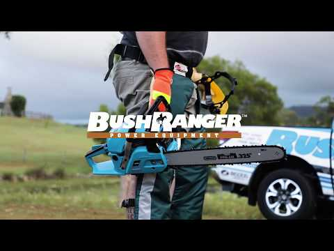 Bushranger Power Equipment Chainsaw Features