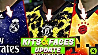 FIFA ONLINE 4 NEW UPDATE New Faces, Hairstyles ,(Leopard+light... Kits) ,Tattoos COMPARISON .