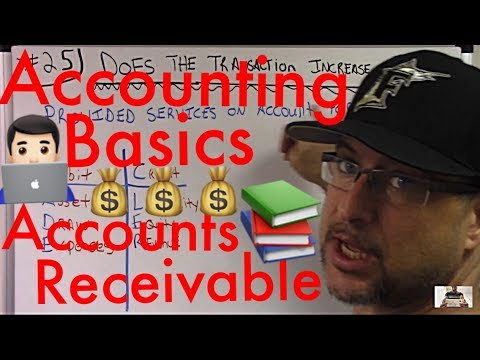Accounting for Beginners #25 / Accounts Receivable Example / Accounting 101 / Accounting Basics