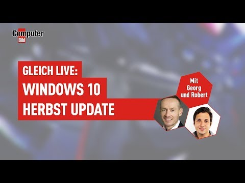 Windows 10 Herbst Update: Alle Infos im Live-Stream