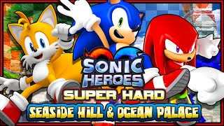Sonic Heroes (HD) - SUPER HARD MODE - Part 1